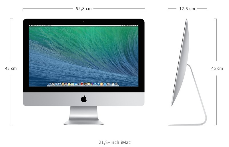 iMac-21,5-specificaties